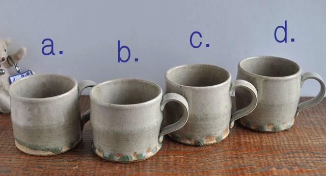 ビードロ釉マグカップ-8a