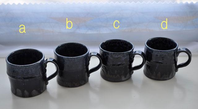 ルリ釉マグカップ-7