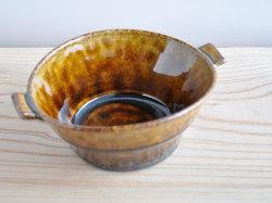 アメ釉スープカップ-3