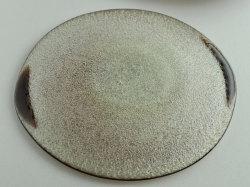 泡二玉変形皿-4